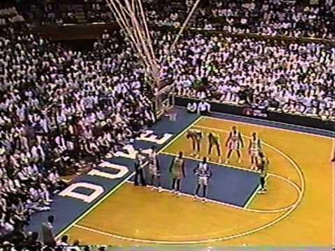 01/28/1990: #13 Georgia Tech Yellow Jackets at #8 Duke Blue Devils