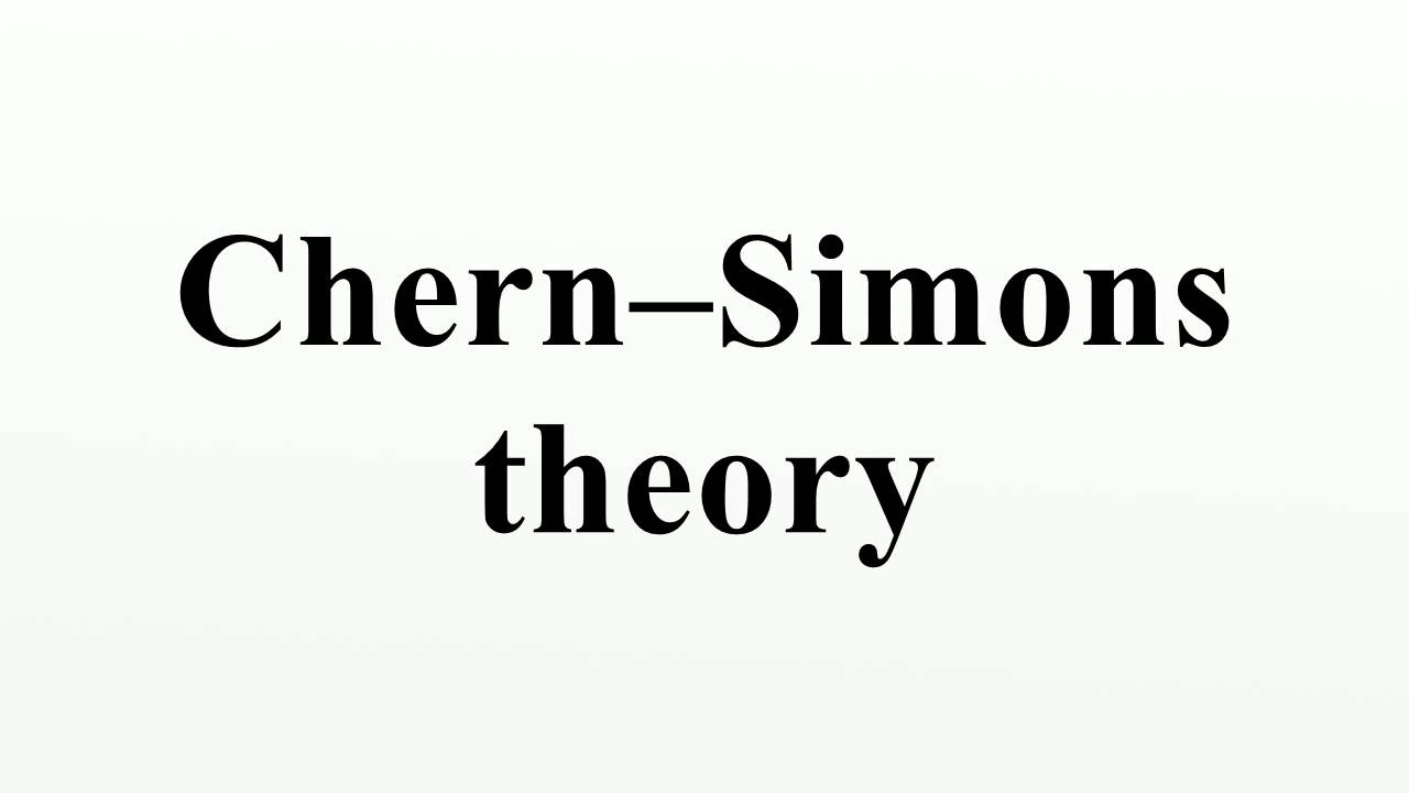 Chern–Simons theory - YouTube