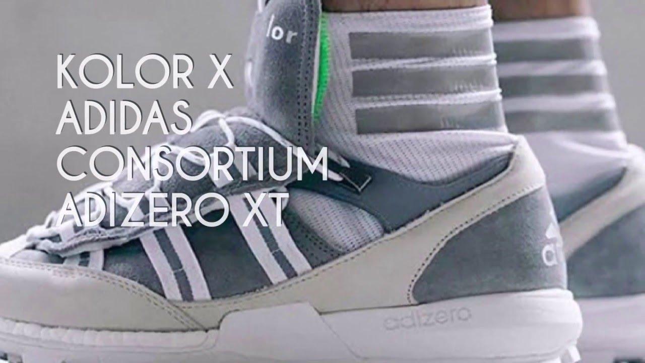 Kolor x adidas adizero XT / zapatilla consorcio estrella de YouTube
