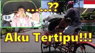 Orang Korea TERTIPU Abang Becak Di Jogja INDONESIA