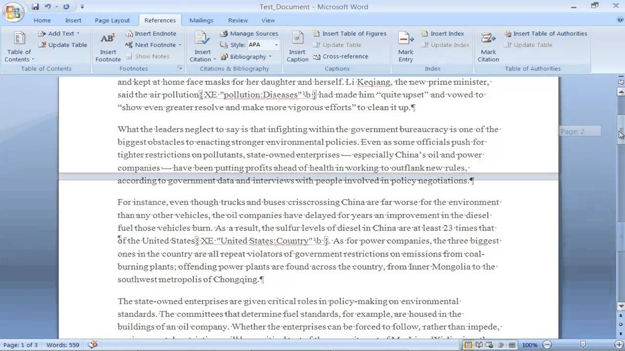 Ms Word 2007 Full Notes Pdf
