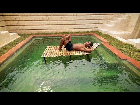 60 Days Build Millionaire Underground Swimming Pool House (Full Video)