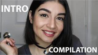 ASMR Repeating My Intro    Sit Back & Relax Compilation ♡