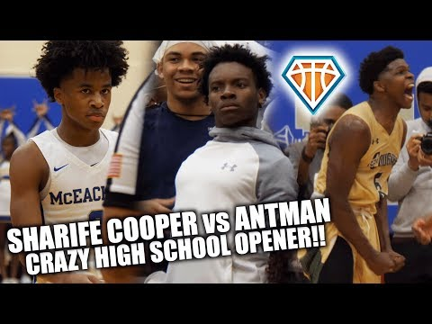 Sharife Cooper TAKES OVER CRAZY HYPED GAME vs Anthony Edwards!!  2020 Guards SHUT THE CITY DOWN