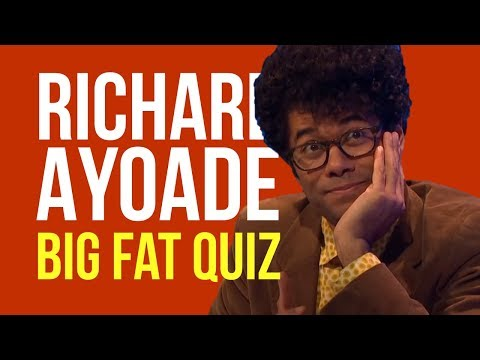 Richard Ayoade does some Big Fat Quizzing | 2016