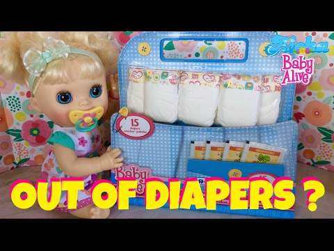🌸Baby Alive Real Surprises (2012) Daisy Ran Out Of Diapers & Food!😃 Unboxing Of Super Refill Pack!
