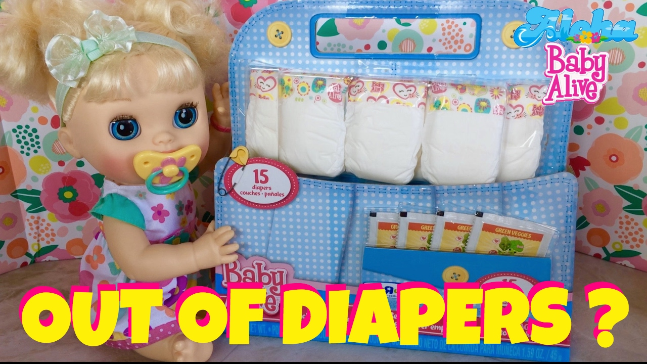 Baby Alive Real Surprises 2012 Daisy Ran Out Of Diapers