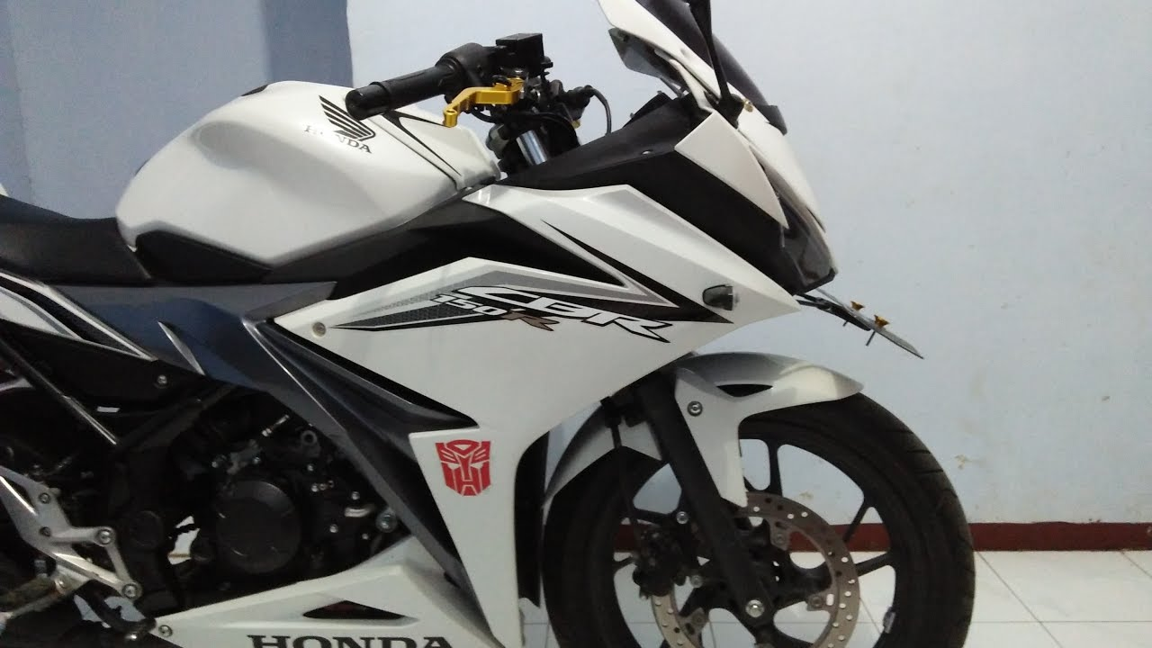 100 Modifikasi Motor Cb 150 R Warna Putih Modifikasi Motor