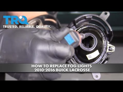 How To Replace Fog Lights 2010-16 Buick LaCrosse
