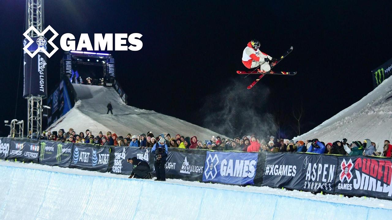 x highlights mens ski superpipe x games aspen 2017