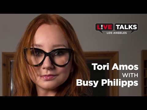 Tori Amos in conversation with Busy Philipps at Live Talks Los Angeles