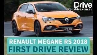 Renault Megane RS 2018 First Drive Review   Drive.com.au