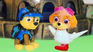 Щенячий патруль новые серии Лунная девочка против Скай Развивающие мультики про игрушки для детей