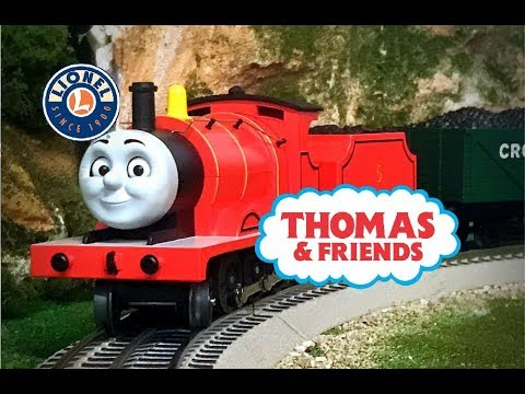 Lionel James: Thomas & Friends Lionchief Model Train Review