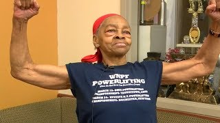 'He picked the wrong house' Female bodybuilder, 82, fights intruder | ABC7