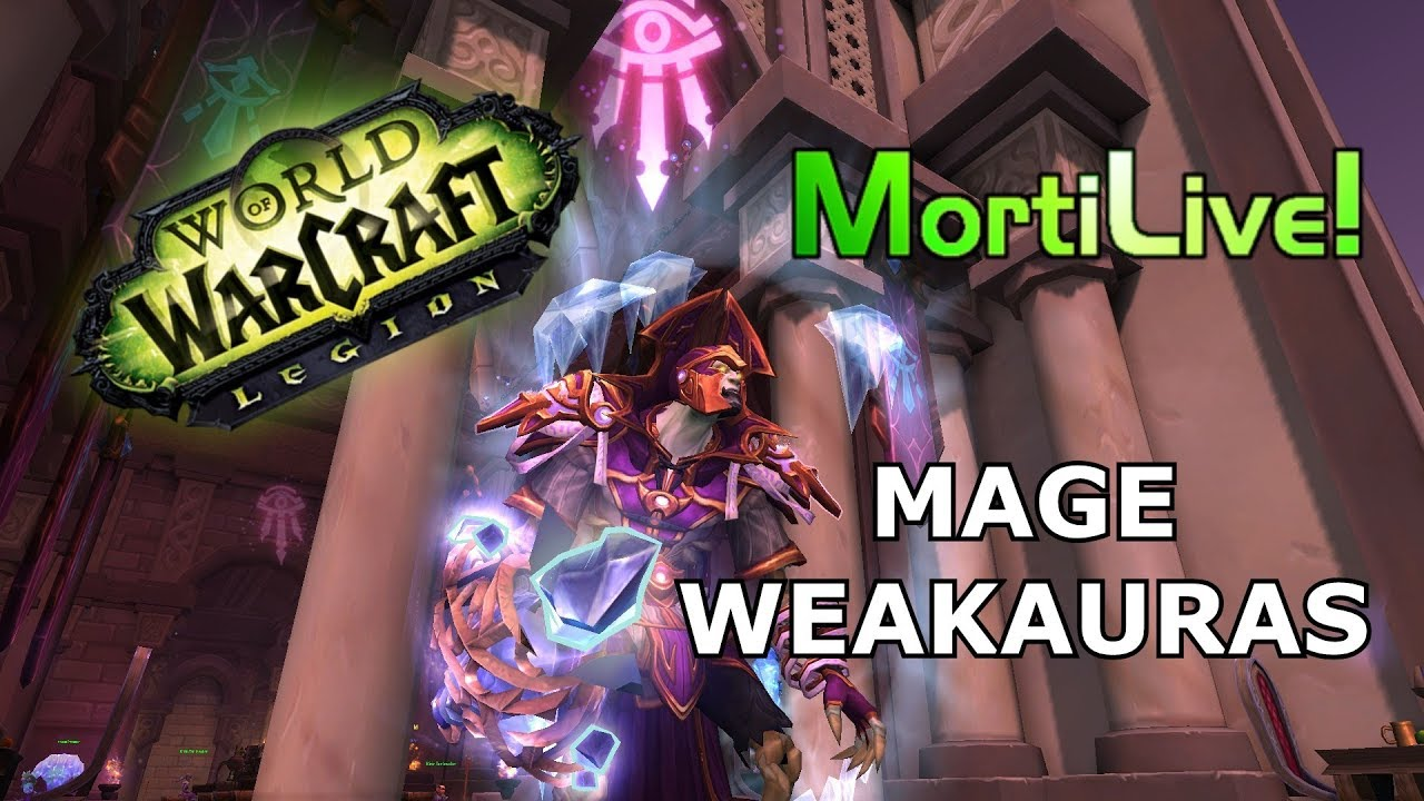 Mage UI / Weakauras + ElvUI Setup Patch 7 3 5