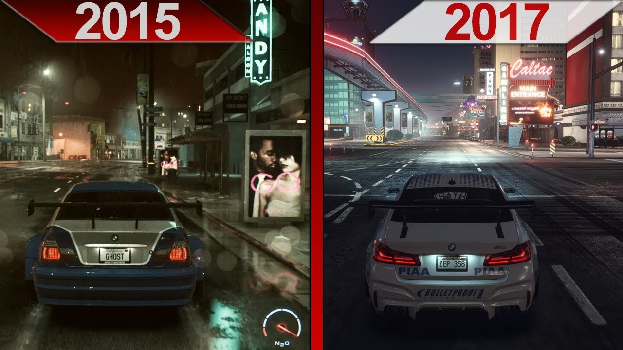 Comparison | Need for Speed (2015) vs. Payback (2017) | PC