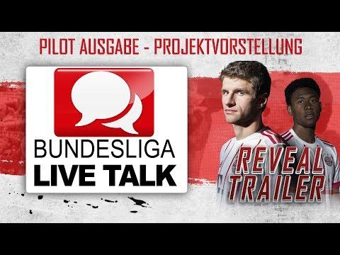 BUNDESLIGA LIVE TALK ⚽ NEUES LIVE PROJEKT MIT DIR!    REVEAL TRAILER