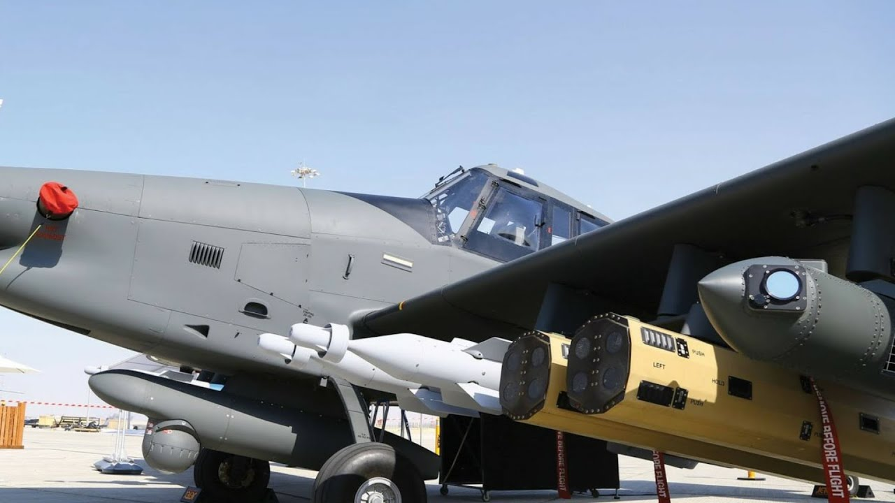 USAF Finally Has Its First New Wolverine Light Attack Aircraft