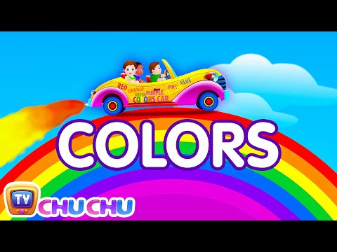 Lets Learn The Colors!  Cartoon Animation Color Songs for Children  ChuChuTV