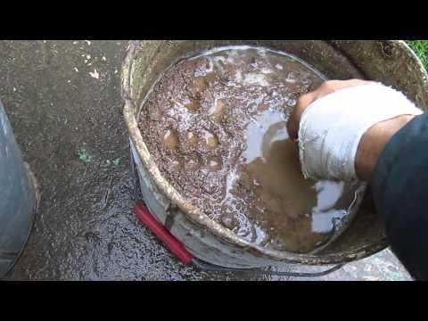 Глиняный раствор для ремонта печей