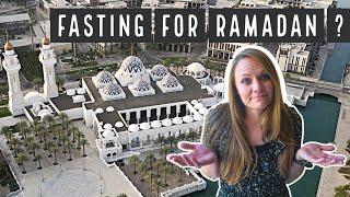 Fasting for Ramadan as Non-Muslims in Saudi Arabia! رَمَضَان 2021   No Food & No Water