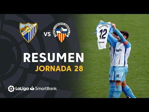 Malaga Sabadell CE Goals And Highlights