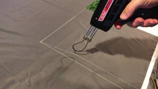 DIY Hot Knife Fabric Cutter