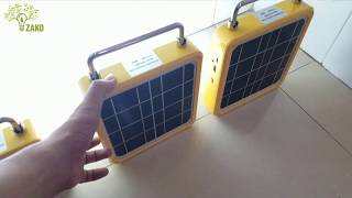 Thí Nghiệm Độ Trâu Đèn Pin Sạc Siêu Sáng Thế Hệ Mới -2019 ( Năng lượng mặt Trời)