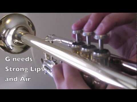 How to Play Trumpet - First 5 Notes