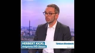 """Herbert Kickl: """"Wir werden das türkise Blendwerk entzaubern!"""""""