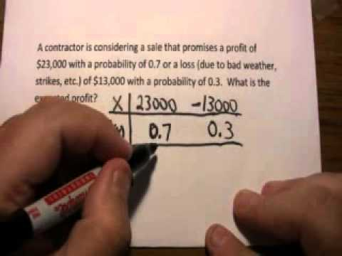 Expected Value: Simple Word Problem