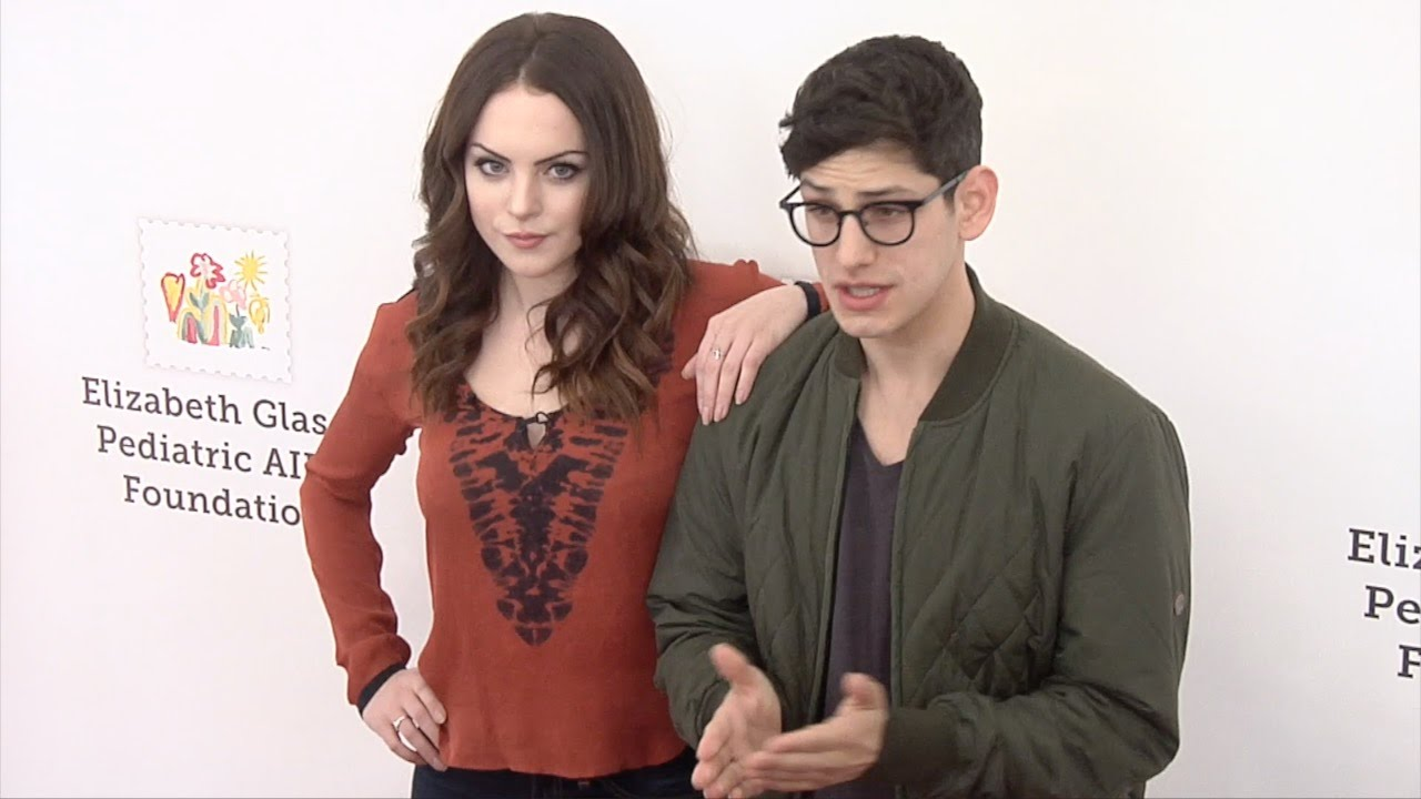 "Elizabeth Gillies & Matt Bennett // ""A Time For Heroes ..."