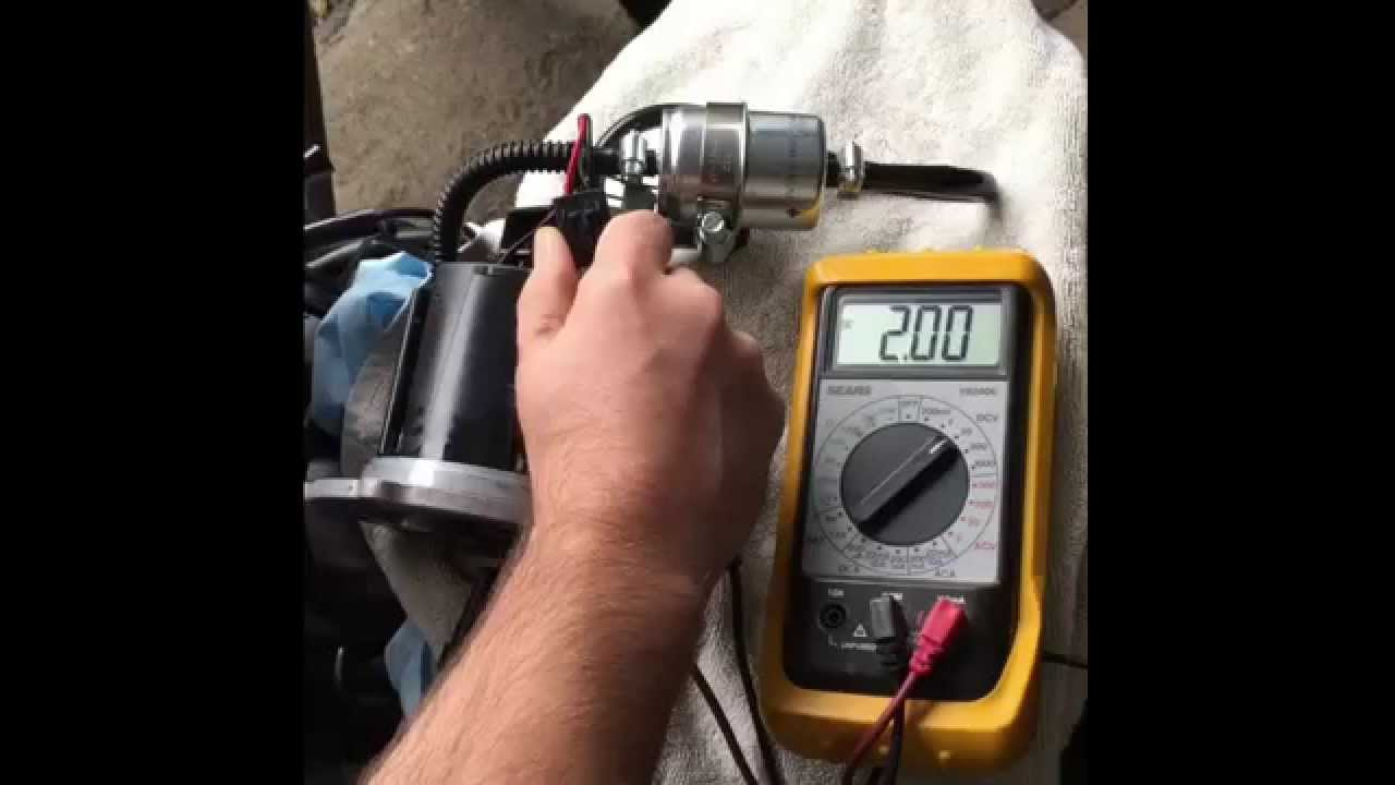 Wiring Fuel Pump Relay