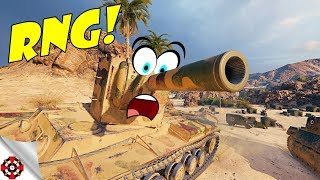 World of Tanks - Funny Moments | RNG OVERLOAD! (WoT RNG, October 2018)