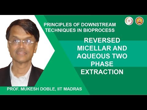 Reversed micellar and aqueous two phase extraction
