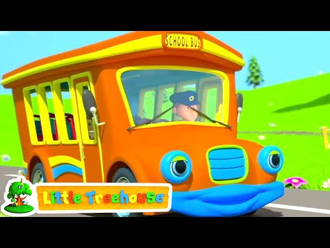 Wheels On The Bus | Nursery Rhymes & Baby Songs By Little Treehouse