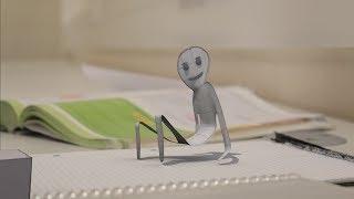 Living Paper - Blender Animation by Julius Burton