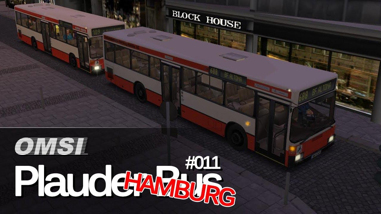 omsi bus simulator hamburg tag nacht plauderbus 011 688 nach altona youtube. Black Bedroom Furniture Sets. Home Design Ideas