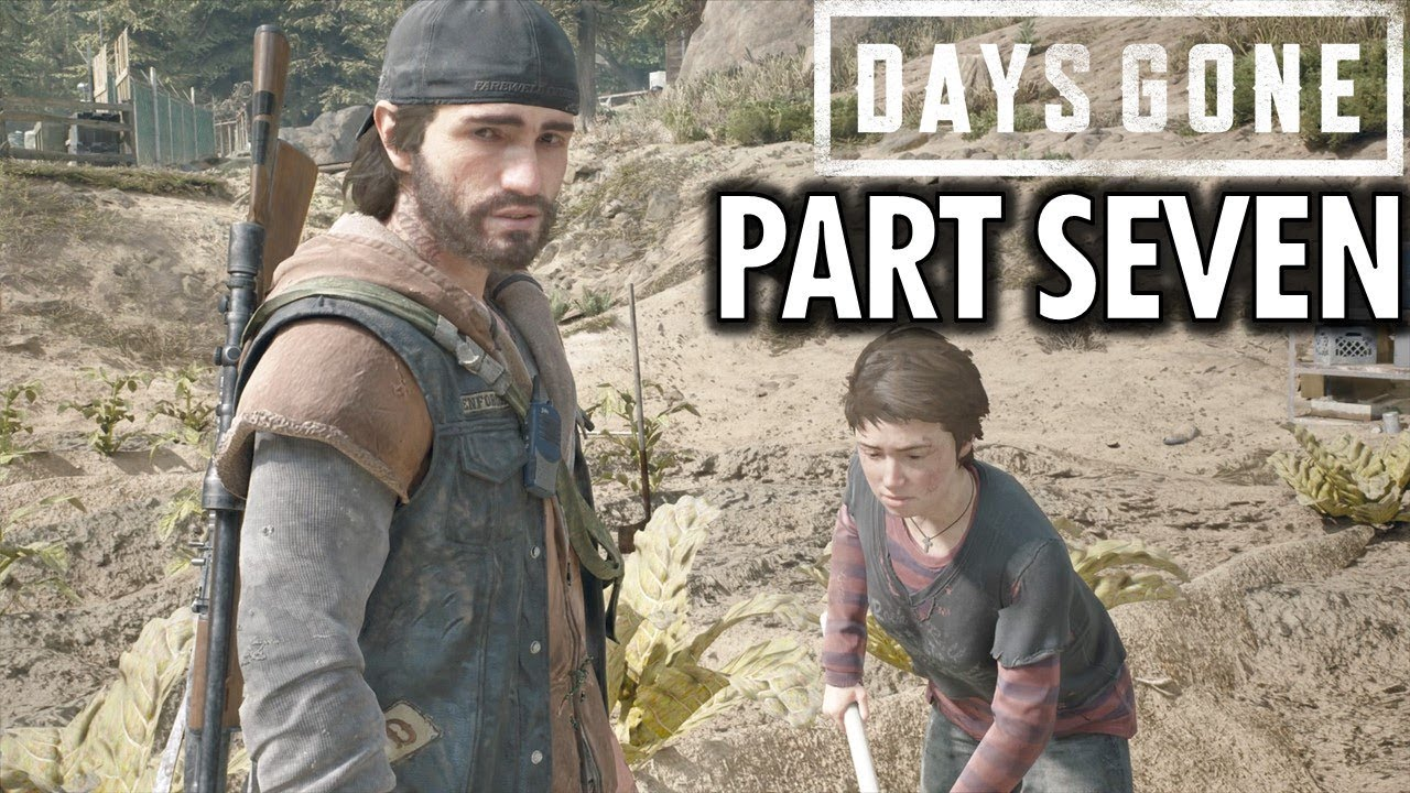Days Gone Gameplay Walkthrough Part 7 The Chase Ps4 Pro