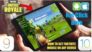 How to Get Fortnite Mobile on Any Device