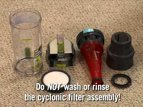Hoover WindTunnel Air Bagless Upright Cyclonic Filter Assembly UH70400