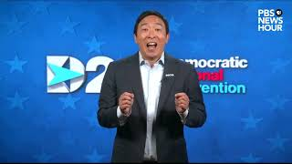 WATCH: Andrew Yang's full speech at the 2020 Democratic National Convention