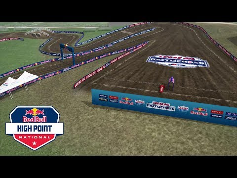 2017 High Point motocross track map