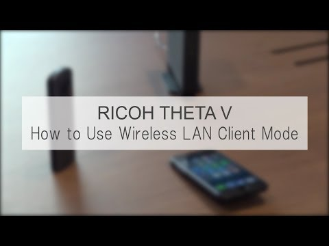 How to Use Wireless LAN Client Mode