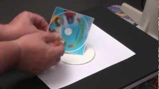 Personalización de CD DVD con Papel Transfer CPM de TheMagicTouch
