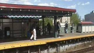 A Ride On The Bronx NYC Subway Train