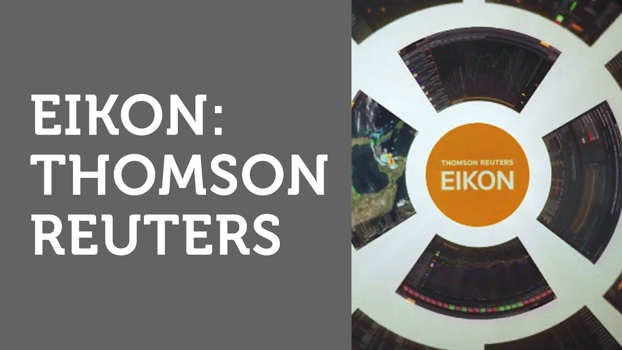"""Eikon:Thomson Reuters """"EIKON"""" Launch Video"""