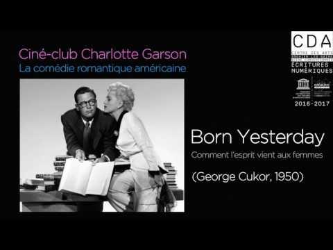 """""""Born Yesterday"""" présenté par Charlotte Garson"""