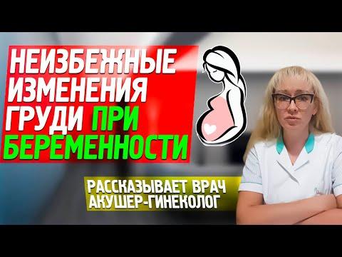 КАК МЕНЯЕТСЯ ГРУДЬ ПРИ БЕРЕМЕННОСТИ: что происходит на разных сроках? Рассказывает акушер-гинеколог